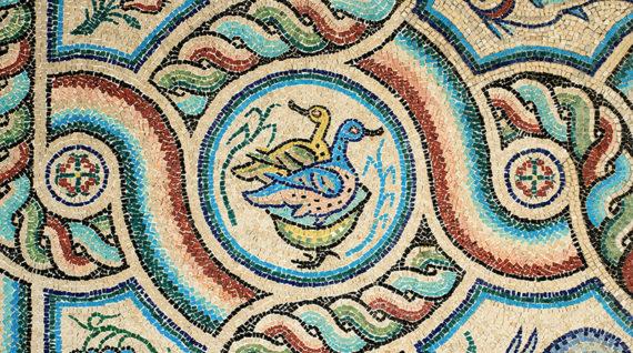mosaici chiesa di Casaranello