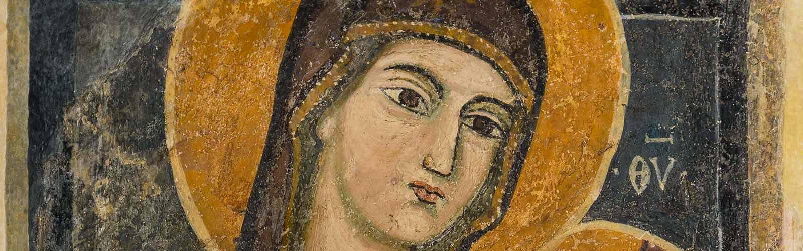 affreschi basso medievali chiesa di casaranello